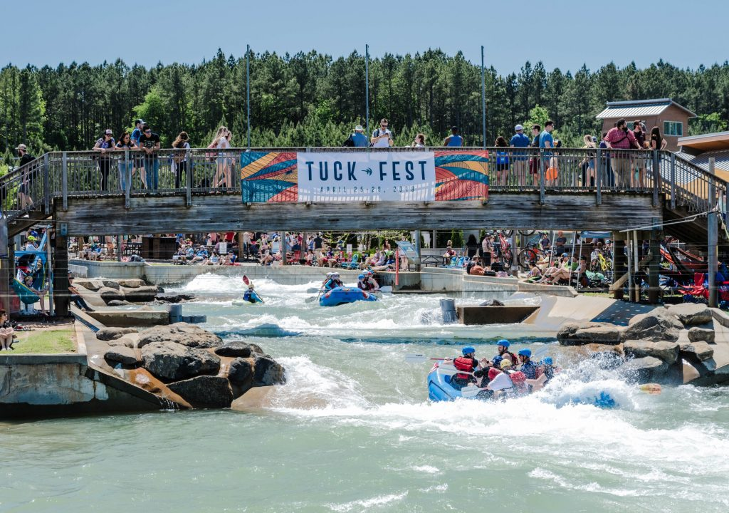 Us,National,Whitewater,Center,,Nc,,4/27/19;,People,Whitewater,Rafting,At